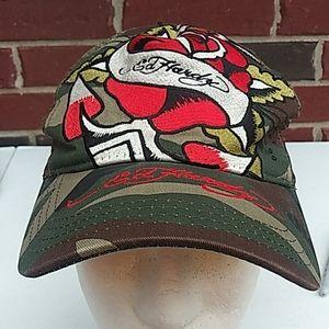 Ed Hardy Camo  Adjustable Hat Cap